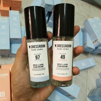 W.Dressroom parfume (april cotton morning rain, peach blossom)