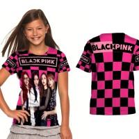 kaos baju anak custom blackpink art 3