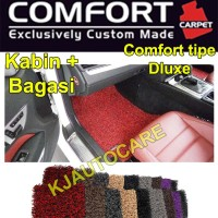 Karpet Honda Brio / Brio Satya 2baris bagasi Comfort Dluxe