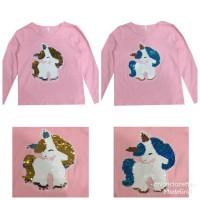 Kaos Flip Sequin reversible Pink Unicorn Full SEQ-03