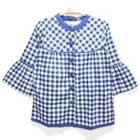 Terlaris Blouse/Atasan/Baju/Batik Katun Rami/Linen/Jepang Wanita