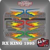 stiker striping list motor yamaha rx king 1995