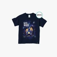 Kaos Anak Afrakids - Kaos Edukasi - Baju Muslim Anak - Kaos 4D (AF215)
