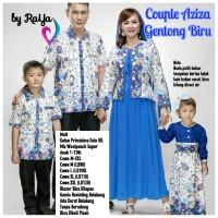 seragam keluarga & seragam pesta Aziza Gentong + 2 baju anak