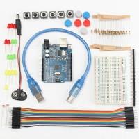 Basic Starter Kit Arduino - UNO R3 Compatible Paket minimalis