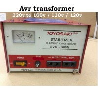Stavol Stabilizer Avr Transformer 500watt 220v to 100v 110v 120v tys