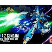 HG Gundam A-Z Gundam AZ Bandai MIB