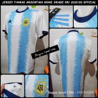 Jersey Baju Bola Negara Argentina Import Home Copa America 2019 2020