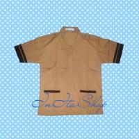 Kemeja / Baju Seragam Sekolah SD Pramuka Siaga Pendek Famatex - No 5