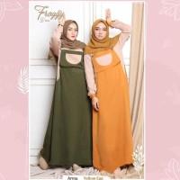 FROGGY DRESS PREMIUM Baju Gamis Dress Wanita Muslim Syari Remaja T