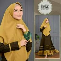 Syari Beryl Baju Muslim Perempuan Gamis Santai Baju Gamis Elegan