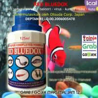 RED BLUEDOX Obat Ikan Anti Jamur Parasit Bakteri, Kuman Dan Luka