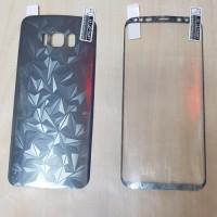ANTI GORES DEPAN BELAKANG SAMSUNG S8+ S8 PLUS (FRONT & BACK SKIN S8+)