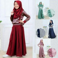 Set Kulot Diagirls Kids 8th-12th Setelan Baju Muslim Anak Perempuan