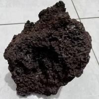 Lavarock Lava Rock Hitam Batu Aquarium Aquascape 1 KG