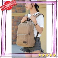 tas ransel pria wanita tas ransel backpack kanvas DxYizu 292 (WYK10)