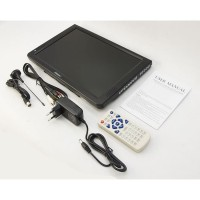D12 Portable TV Monitor 11.6 Inch Digital DVB-T2 + Analog Antena