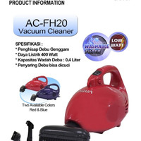 VACUUM CLEANER AQUA AC-FH 20 LOW WATT