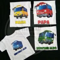 Kaos Ulang Tahun Tayo Family T-shirt Custom Couple T-shirt