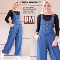 jeans denim jumpsuit baju muslim wanita jamsuit jumsuit xl jumbo big