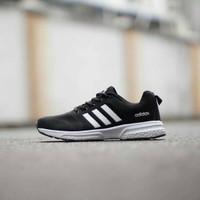 Adidas Climacool Running Import / Sepatu Pria Olahraga / Black White