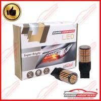 RM - SUPER BRIGHT LED - T20 - 12V - LAMPU MUNDUR - LED - WHITE