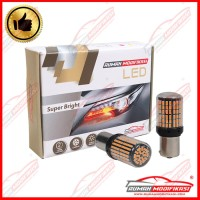 RM - SUPER BRIGHT LED - P21W - 12V - LAMPU SEIN - LED - YELLOW