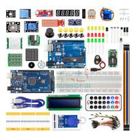 UPGRADED STARTER KIT COMBO - UNO & MEGA 2560 R3 Compatible Arduino Kit