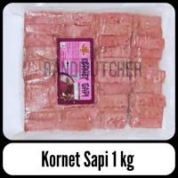 Kornet Sapi - Beef Cornet Daging Sapi King Food 1 kg Murah Bandi