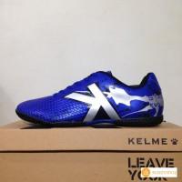 Sepatu Futsal Kelme Star Evo Royal Blue Silver Original BNIB