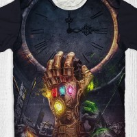 Kaos Movie Avengers End Game - Thanos Hands Time