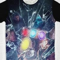 Kaos Movie Avengers End Game - Thanos Hands Glass