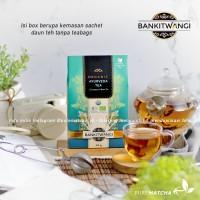 BANKITWANGI - AYURVEDA TEA Organic Box 24gr Lemongrass Green Tea Blend