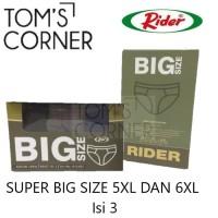 Celana dalam pria Jumbo Rider 5XL 6XL   Big Size Extra large R 326 VBS