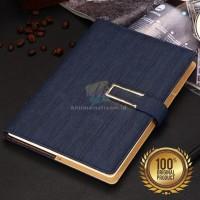 Notebook Agenda Kulit Ukuran A5   Buku Catatan Kerja Cover Kulit A5