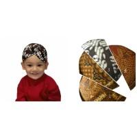 Perlengkapan Baju Bayi Anak Tradisional/Blankon/Baju Adat/Topi Bayi
