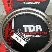 Velg TDR Oval Ring 17 Lebar 140 - 160 Sepasang Brown Bulat