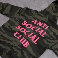 ASSC Pullover Hoodie Camo Green/Pink