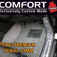 Karpet Mobil COMFORT Custom Honda Brio / Brio Satya 2baris Premium