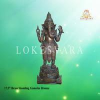Patung/Rupang/Arca Ganesha Bronze/Perunggu