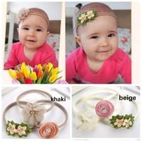 Bandana anak bayi headband baby 1set 3pcs