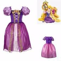 Princess Rapunzel Dress Costume   Baju Kostum Putri Anak 4