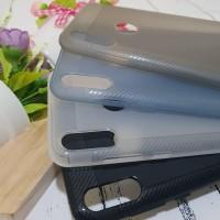 ASUS ZENFONE MAX PRO M2 ZB631KL SLIM SOFTCASE LIST CARBON CASE MATTE