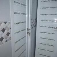 pintu kamar mandi full aluminium