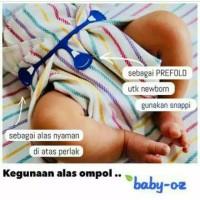 Alas ompol Baby Oz   insert clodi   newborn   popok kain   popok sehat