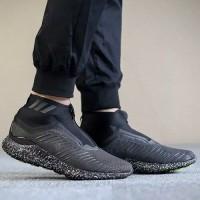 Sepatu Adidas Alphabounce Zip Night Black Premium Quality Original