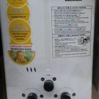 Water heater Gas Rinnai REU 5 CFC || Low pressure
