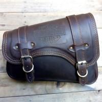 side bag leather sportster,tas motor kulit sportster