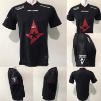 Kaos T-shirt Gaming CS:GO Team Astralis Jersey 2019