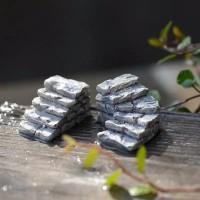 Miniatur tangga batu bahan landscape,terarium , dll